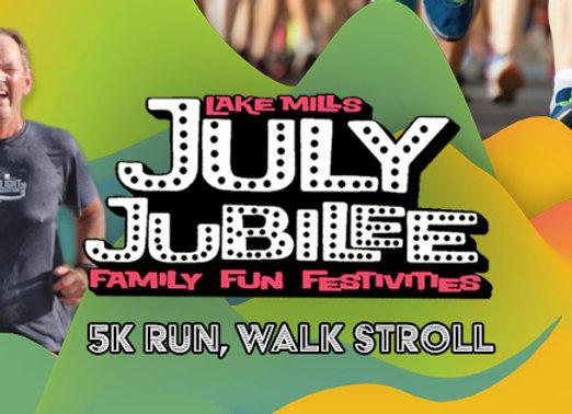 July Jubilee 5K Registration