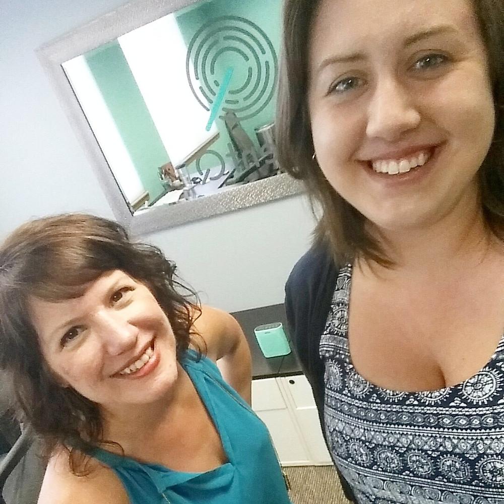 Renee Frey (President and Founder of TalentQ) and Nicole Ferreira (TalentQ Recruitment Coordinator)