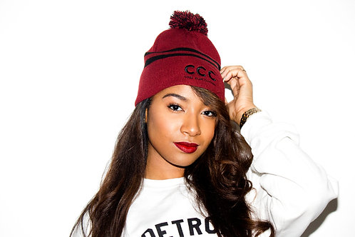 CCC Winter Hat Maroon