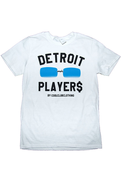 Icy Blue Tinted Detroit Player$ Tee