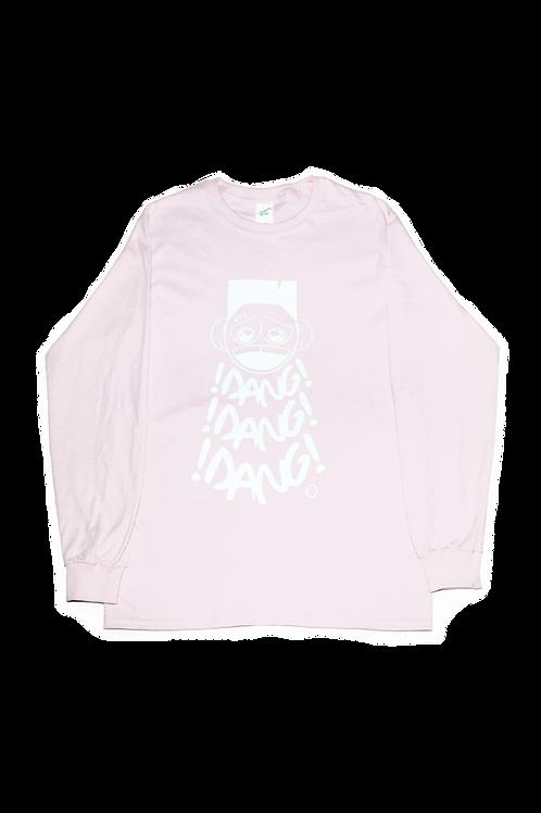 DANG! x3 Pink Long Sleeve Tee