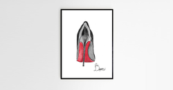 Your name in Louboutin's logo