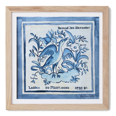 Dutch Birthtile Blue