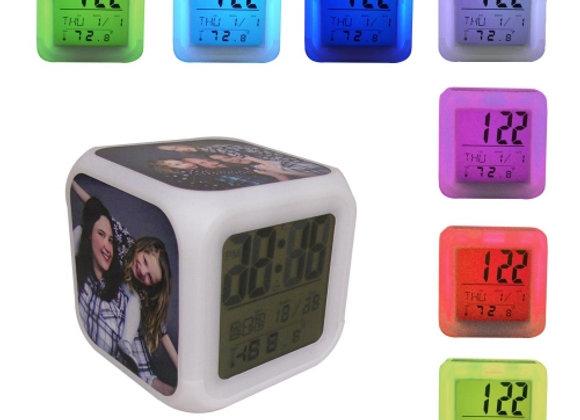 Réveil Cube Lumineux
