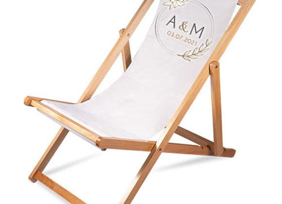 Chaise longue pliante - Adulte