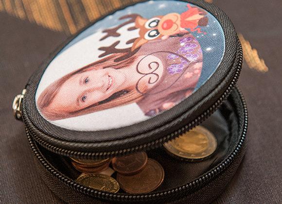 Porte monnaie rond