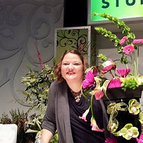 Melissa Huston at the Phildelphia Flower Show