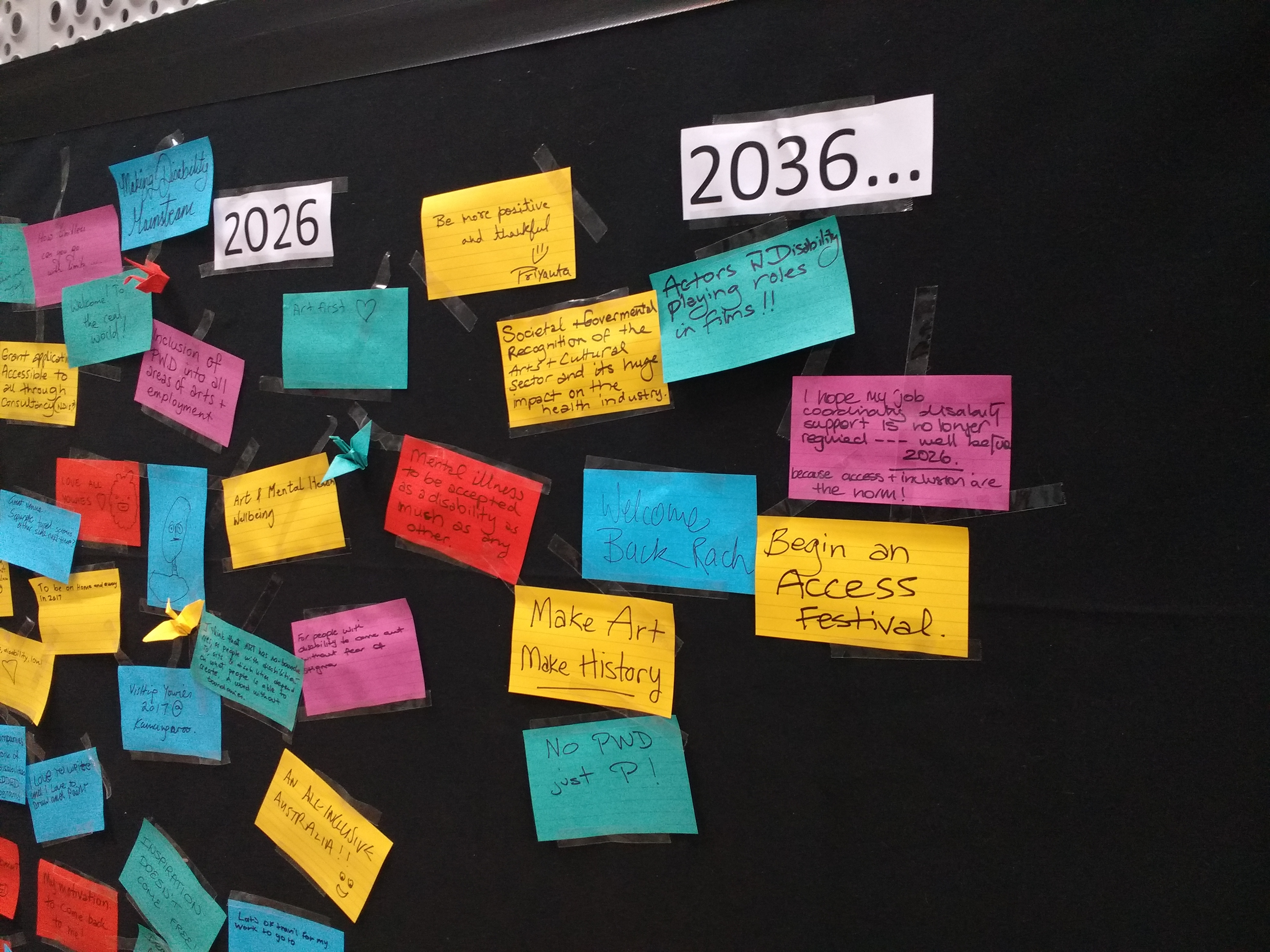 Louise Kate Anderson_AArts 2016 Conf Legacy Wall (15)