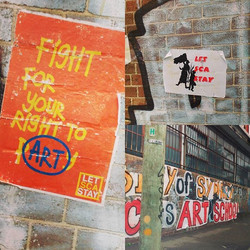 #letscastay #fightforart #activism