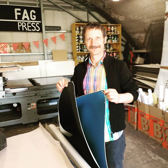_bigfagpress has a new printing blanket!!!! _thecrossartprojects