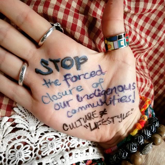 #stop #deafmob #soblackaustralia #aboriginal #auspol Culture is not a lifestyle choice