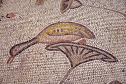 Mosaik in der Brotvermehrungskirche