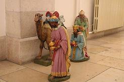 Die heiligen drei Könige im Paulus-Haus in Jerusalem
