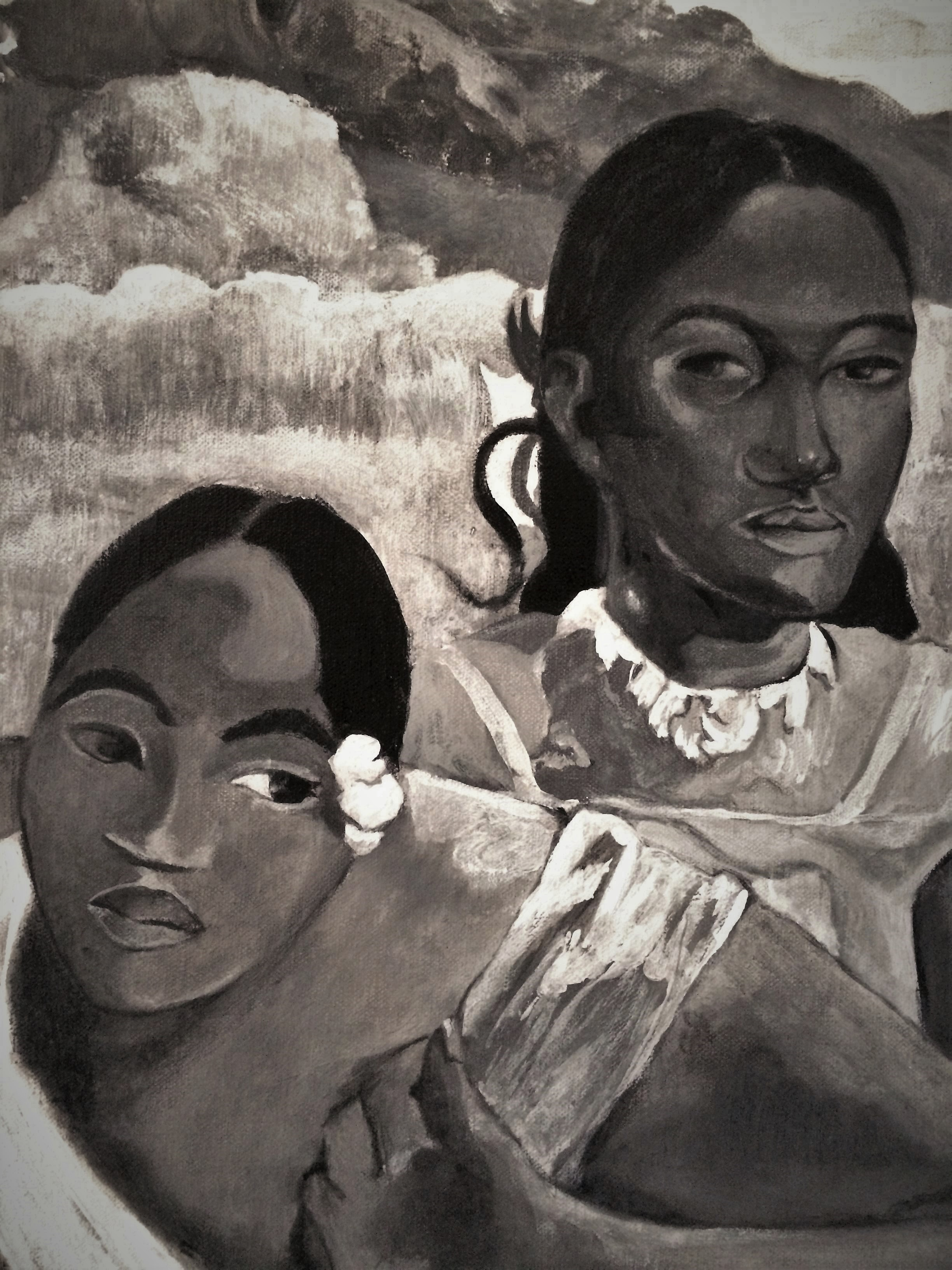 Gauguin - Nafea Faa Ipoipo - Detail
