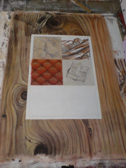 Materialimitation bei Entstehung