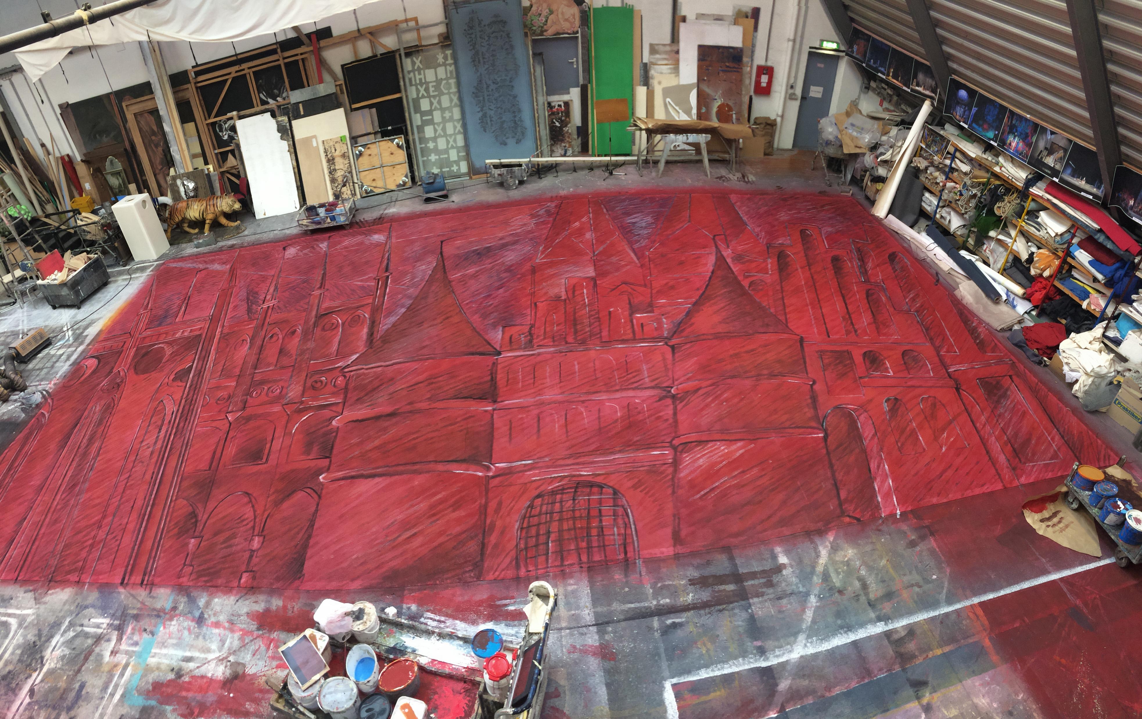 Prospektmalerei für Marzipanpiraten
