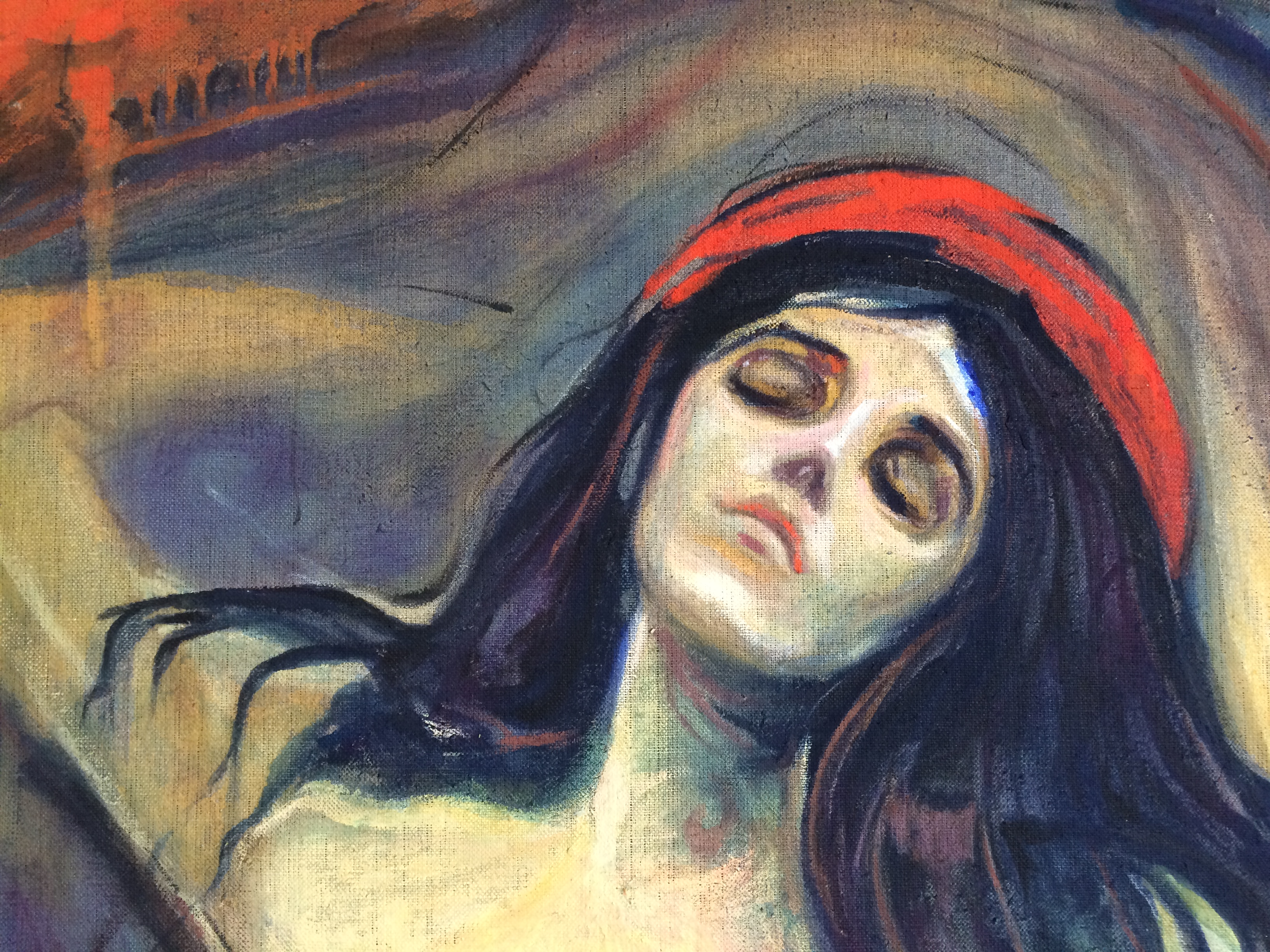 Reproduktion - Orig. von E. Munch