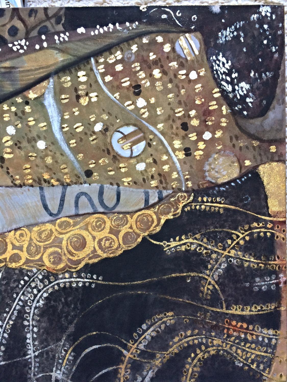 Reproduktion - Orig. von G. Klimt