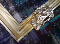 Vergolden (Schlagmetall)