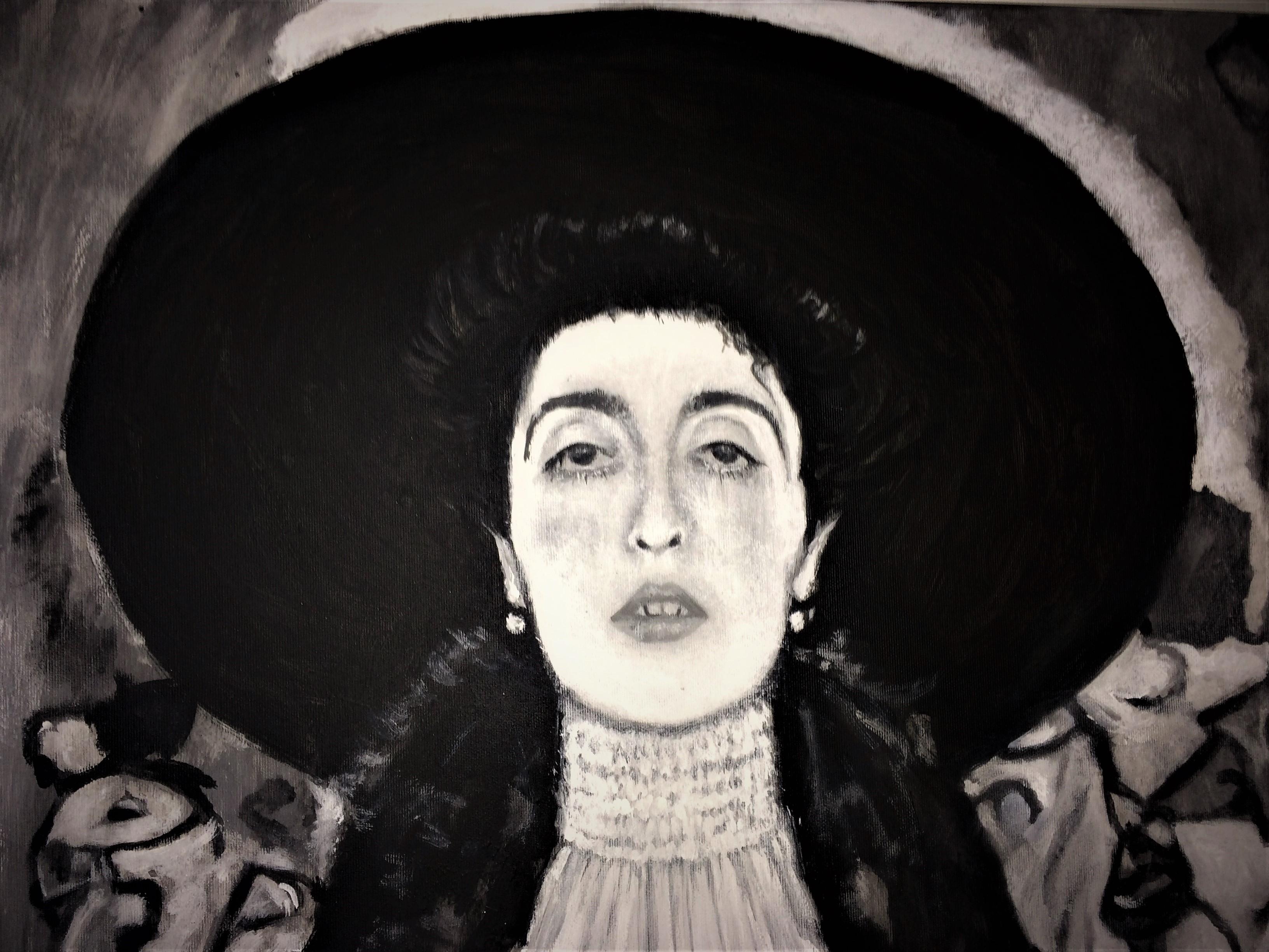 Klimt - Adele Bloch Bauer II -Detail