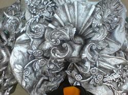 Versilbern (Silberpigment)