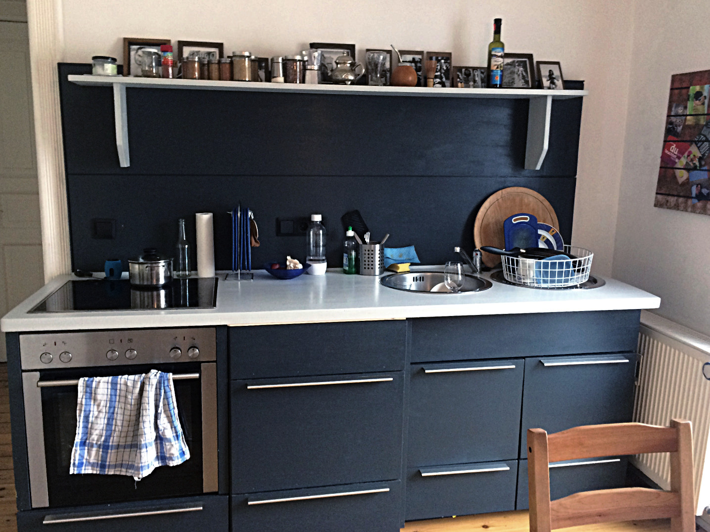 Anfangszustand Küchenrückwand