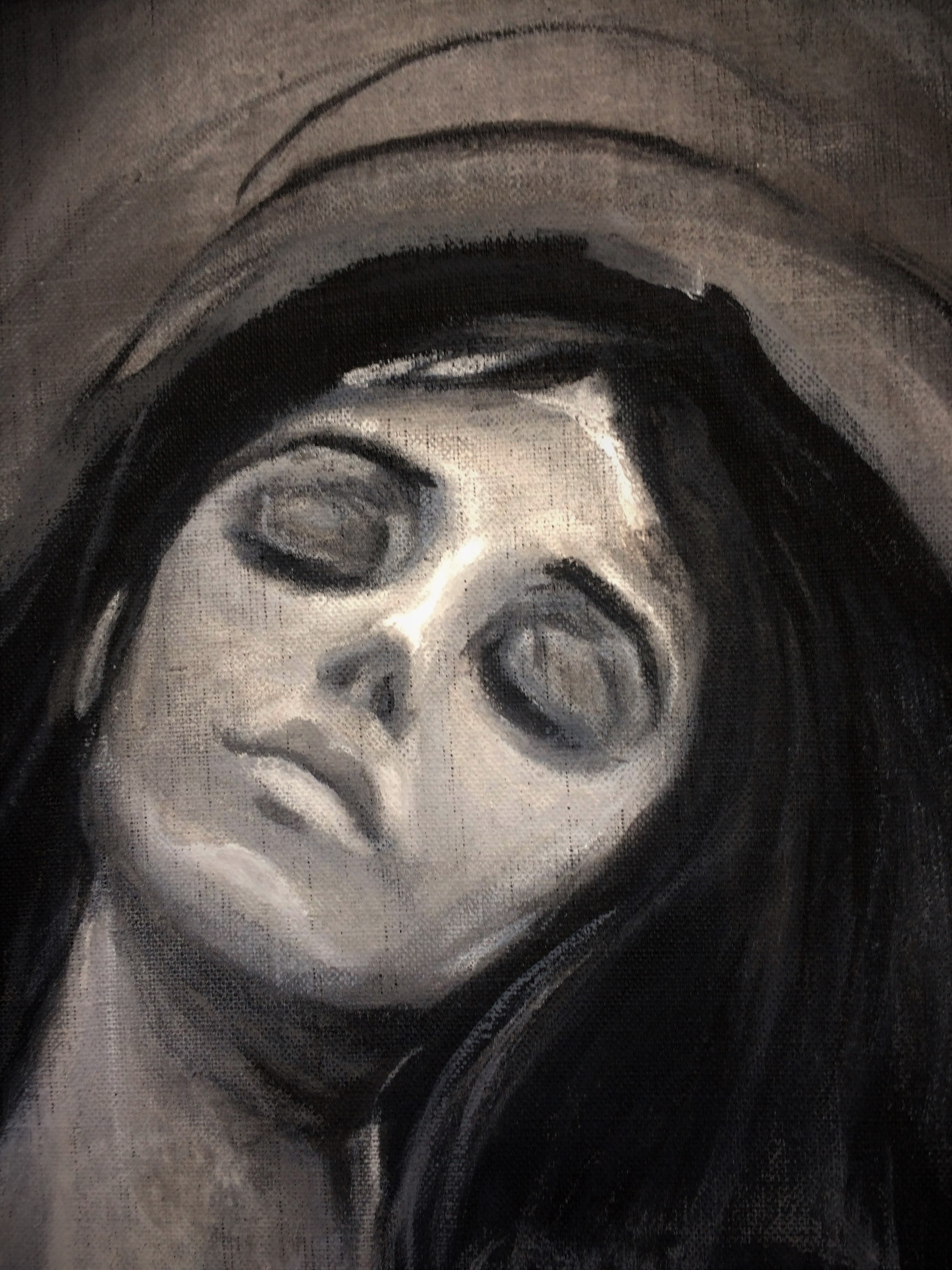 E.Munch - Madonna - Detail