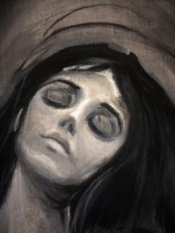 E.Munch - Madonna - Detail
