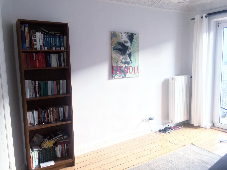 Anfangszustand TV Wand