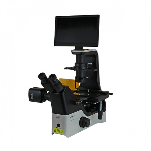 EXI-410 Trinocular Fluorescent Inverted Microscope