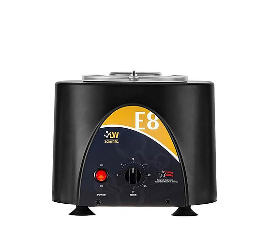 E8 Fixed Speed Centrifuge: 8 Place Angled.