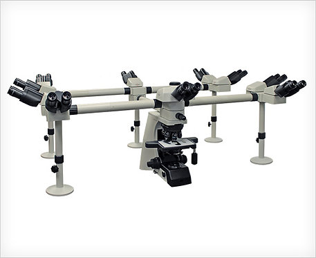 Accu-Scope EXC-500 Multi Head, Optional 2 to 10 Head System