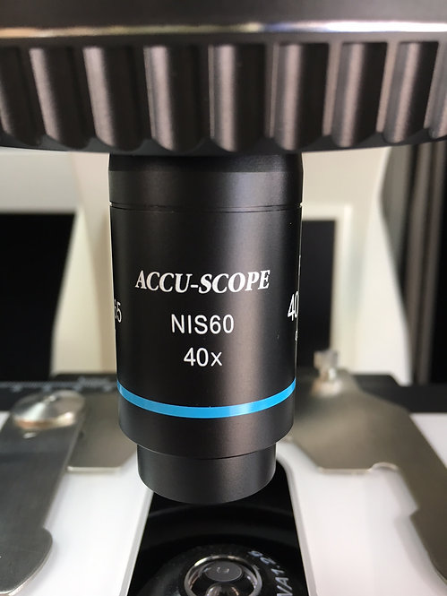 40x NIS Plan Achromat Objectives, Fits Nikon Eclipse Models
