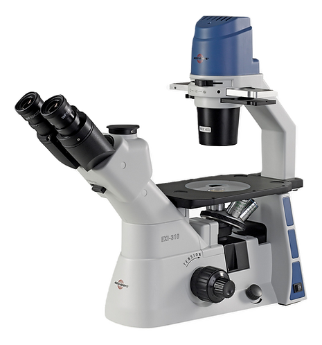 EXI-310 Trinocular Brightfield Inverted Microscope