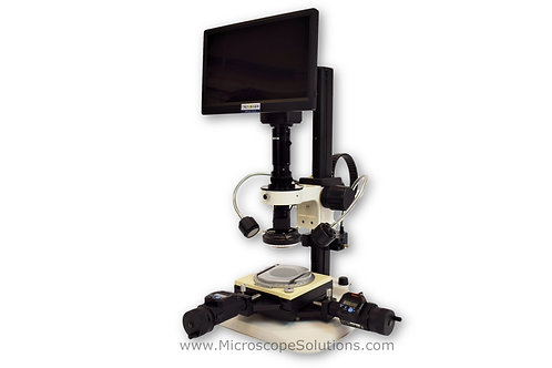 MS-6000 Series Digital Video Measuring System, Macro/Micro Zoom with Detents