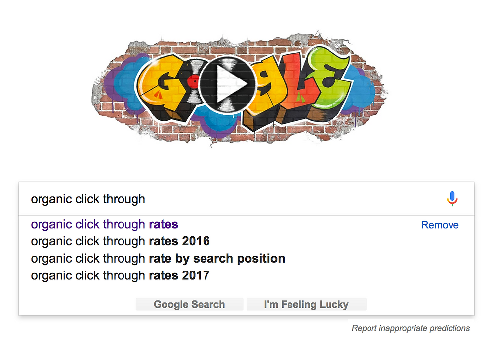 google keyword suggestion box