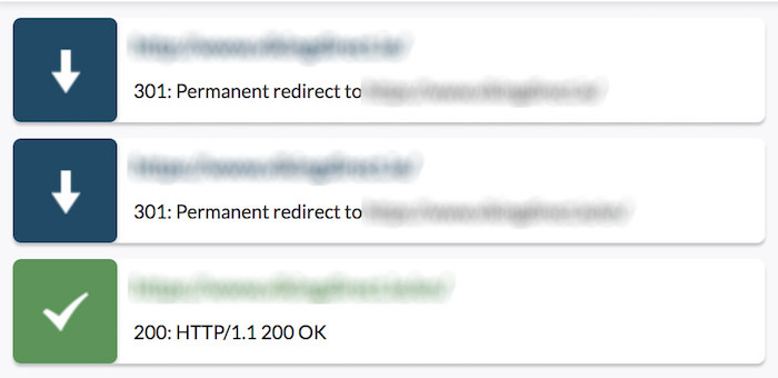 redirect chain example