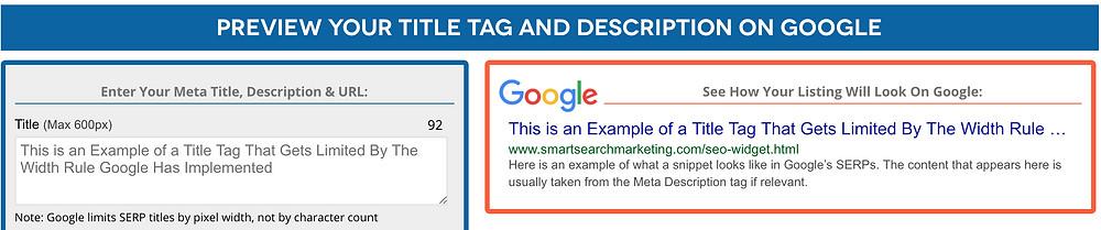 meta data preview tool