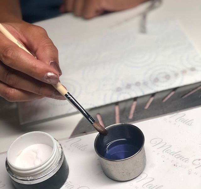 Formation base résine #acrylicnails #for