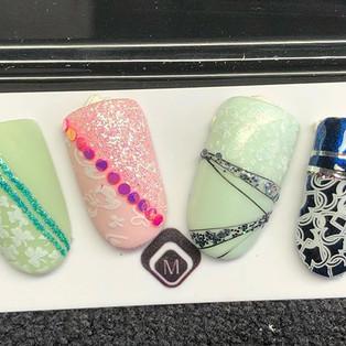 Nails art #stamping #magnetic #brignoles