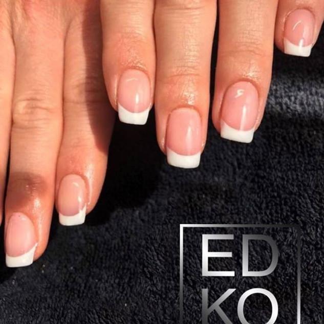 French gel classique salon #edko #nature