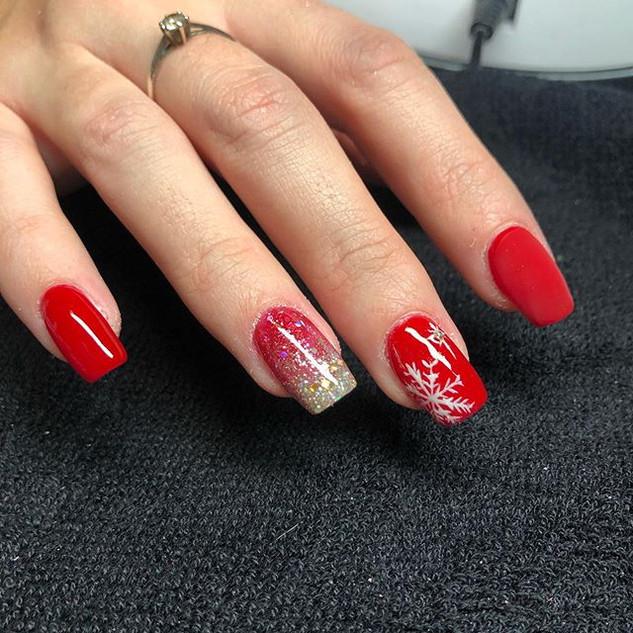Les ongles de #noel #glitternails Nature d'ongles var 83170 brignoles #ongle