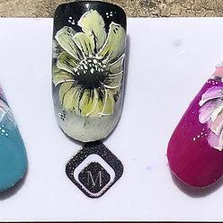 Nails art du jour . Vous aimez ? ❤️#ongl