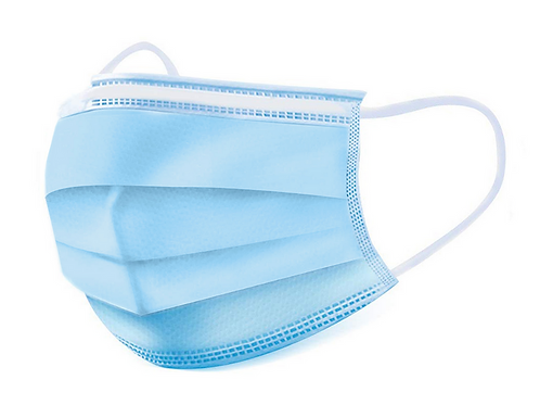 3 Ply blue disposable masks