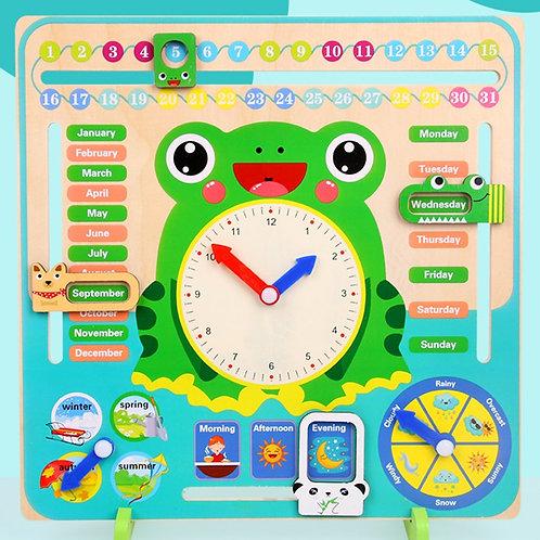 Calendar, Clock, Time cognition skills development