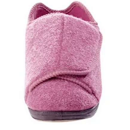 Womens Extra Extra Wide Easy Closure Slippers