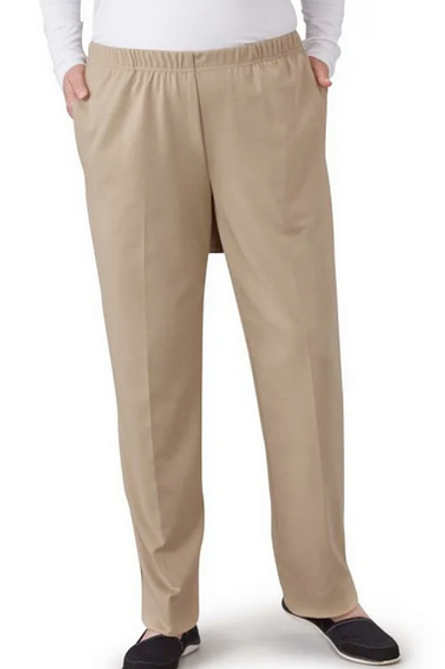Pant Open Back Knit With Pocket Antimicrobial