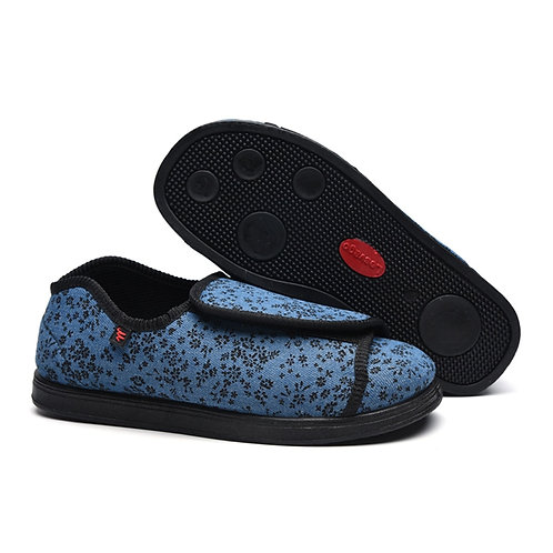 Lady's Comfy oedema Shoes Extra Wide