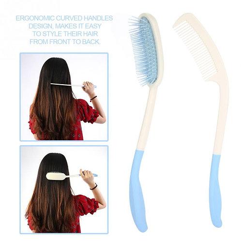 Long Handle Comb Hair Brush