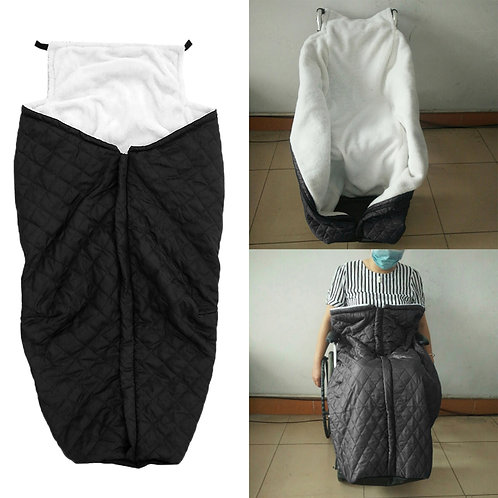 Wheelchair Cover Fleece-Lined with zipper